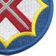 142nd Battlefield Surveillance Brigade Patch   Lower Right Quadrant