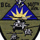 140th Aviation Regiment B Company Patch | Center Detail