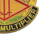 13th Finance Group Crest Patch | Lower Right Quadrant