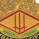 13th Finance Group Crest Patch | Center Detail