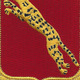 138th Armored Cavalry Regiment Patch   Center Detail