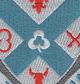 135th Infantry Regiment Patch   Center Detail