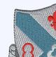 135th Infantry Regiment Patch   Upper Left Quadrant