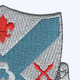 135th Infantry Regiment Patch   Upper Right Quadrant