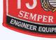1345 Engineer Equipment Operator MOS Patch | Lower Left Quadrant