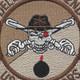 132nd Aviation Cavalry Regiment Delta Company Patch Desert | Center Detail