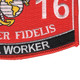 1316 Metal Worker MOS Patch | Lower Right Quadrant