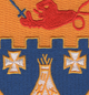 12th Infantry Regiment Patch Teepee | Center Detail
