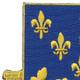 129th Infantry Regiment Patch | Upper Left Quadrant