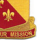 129th Field Artillery Regiment Patch | Lower Right Quadrant