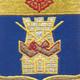 186th Infantry Regiment Patch   Center Detail