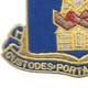 186th Infantry Regiment Patch   Lower Left Quadrant