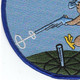 186th Fighter Squadron Patch | Lower Left Quadrant