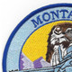 186th Fighter Squadron Montana Air National Guard Patch F-16 Fighting Falcon | Upper Left Quadrant