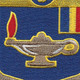 183rd Infantry Regiment Patch   Center Detail