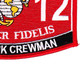 1812 M1A1 Tank Crewman MOS Patch | Lower Right Quadrant