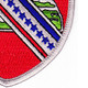 17th Field Artillery Regiment Patch | Lower Right Quadrant