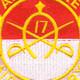 17th Cavalry Regiment Patch Airborne   Center Detail