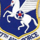 17th Air Force Shoulder Patch Hook And Loop | Center Detail