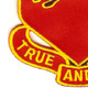 178th Field Artillery Regiment Patch | Lower Left Quadrant
