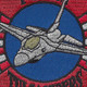 125th Fighter Squadron F-16M Patch | Center Detail