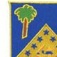 125th Infantry Regiment Patch | Upper Left Quadrant