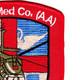 1256th Aviation Medical Company Air Ambulance Patch | Upper Right Quadrant