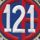 121st Naval Mobile Construction Battalion Patch | Center Detail