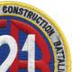 121st Naval Mobile Construction Battalion Patch | Upper Right Quadrant