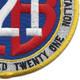 121st Naval Mobile Construction Battalion Patch | Lower Right Quadrant