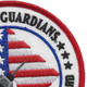 121st Fighter Squadron Capital Guardians Patch | Upper Right Quadrant