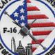 121st Fighter Squadron Capital Guardians Patch | Center Detail