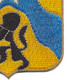 121st Cavalry Regiment Patch   Lower Right Quadrant