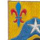 121st Cavalry Regiment Patch   Upper Left Quadrant