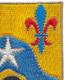 121st Cavalry Regiment Patch   Upper Right Quadrant