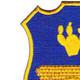 120th Infantry Regiment Crest Patch | Upper Left Quadrant