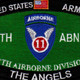 11Th Airborne Division Military Occupational Specialty MOS Patch | Center Detail