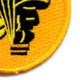 11th Airborne Division Jump School Patch | Lower Right Quadrant