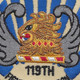 119th Fighter Squadron Small Patch | Center Detail