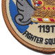 119th Fighter Squadron Small Patch | Lower Left Quadrant