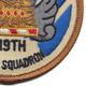 119th Fighter Squadron Small Patch | Lower Right Quadrant