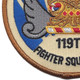 119th Fighter Squadron Patch | Lower Left Quadrant
