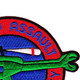 119th Aviation Assault Helicopter Company Patch Gators   Upper Right Quadrant