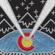 117th Space Battalion Patch   Center Detail
