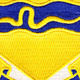 116th Cavalry Regiment Patch | Center Detail