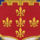 115th Cavalry Regiment Patch | Center Detail