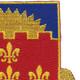 115th Cavalry Regiment Patch | Upper Right Quadrant
