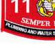 1121 Plumbing And Water Supply Specialist MOS Patch | Lower Left Quadrant