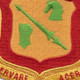 111th Armored Cavalry Regiment Patch | Center Detail