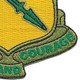 111th Armored Cavalry Regiment By Arms and Courage Patch | Lower Right Quadrant